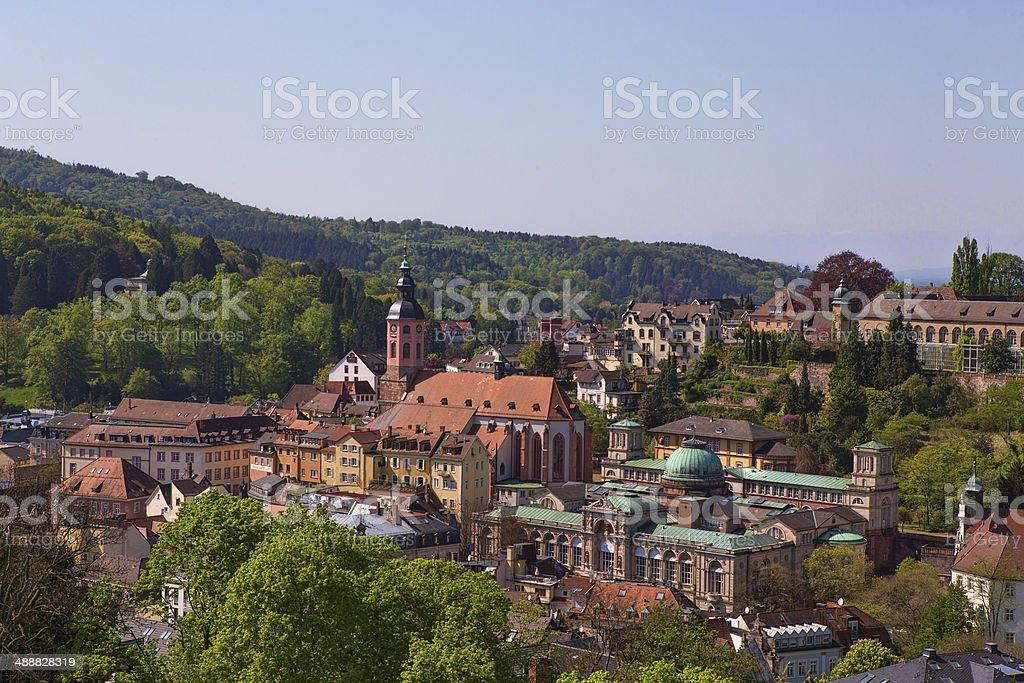Baden-Baden, Germany stock photo