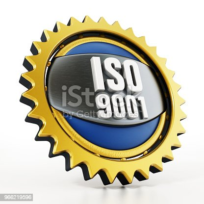 istock ISO 9001 badge isolated on white 966219596