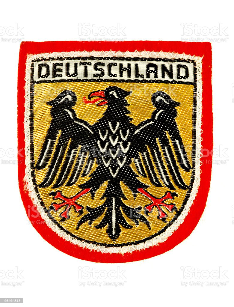 Badge or patch about Germany. stock photo