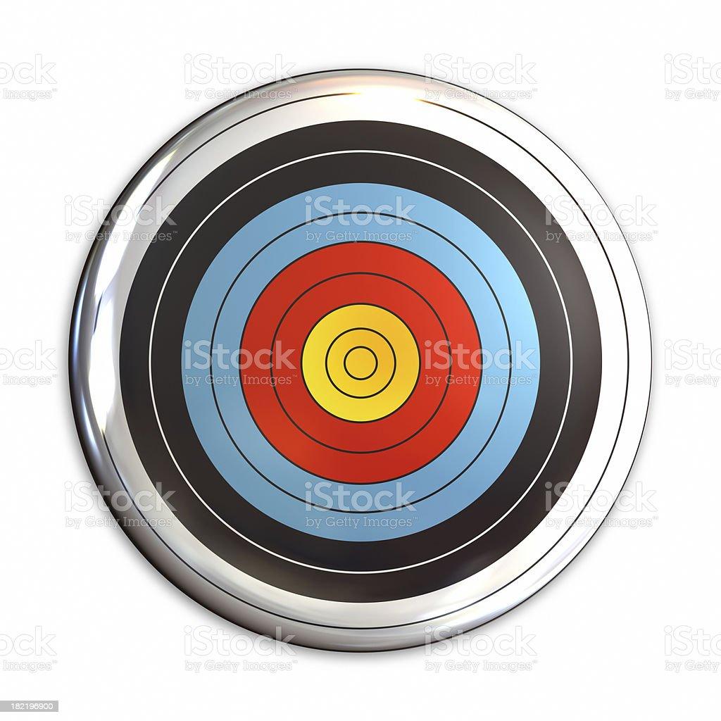 badge target royalty-free stock photo