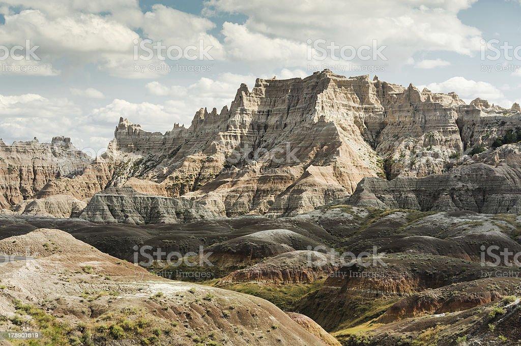 Badlands Extreme Geology stock photo