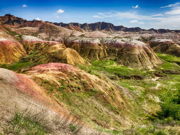 Badlands In The Summer – Foto