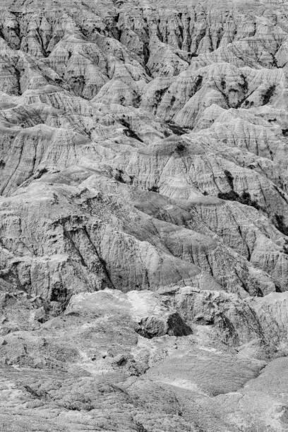 Badlands National Park, South Dakota stock photo