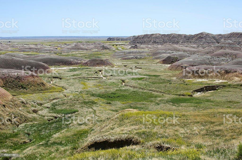 Badlands National Park, South Dakota, USA royalty-free stock photo
