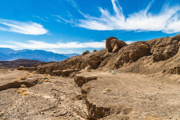 Badlands von Death Valley, Kalifornien – Foto