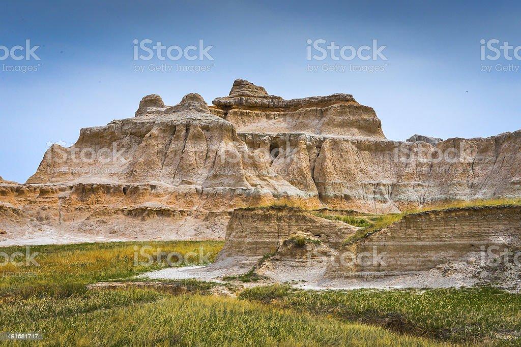 Badlands Rock Formation stock photo