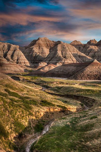 Badlands - South Dakota stock photo