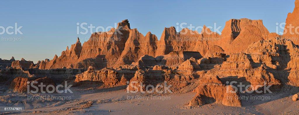 Badlands, South Dakota, USA stock photo