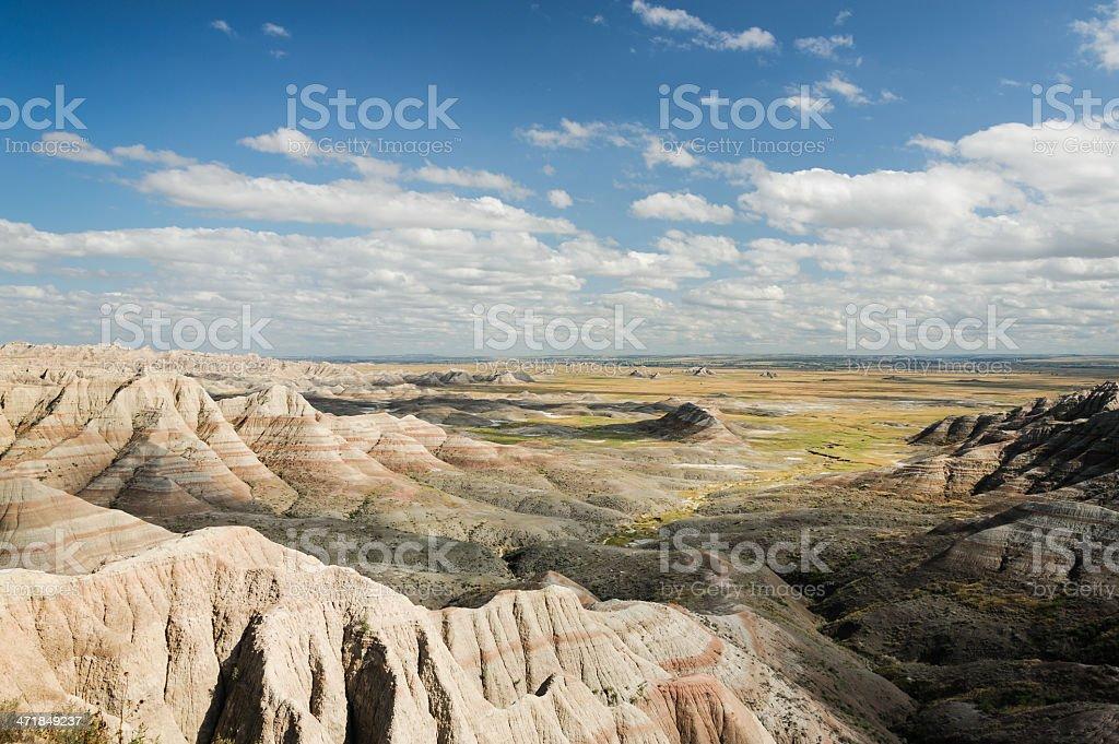 Badlands Vista stock photo