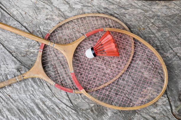 Accessoires de badminton. A définir pour amusement et jeux de plein air. Saison de l'été. - Photo