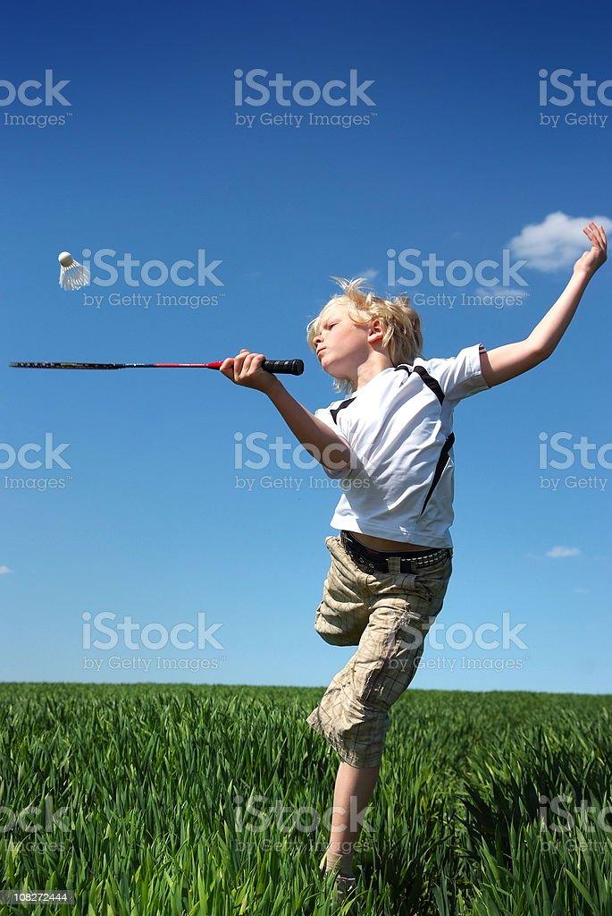 Badminton-Spaß – Foto