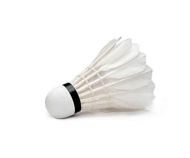 Badminton isolated Badminton on white background badminton stock pictures, royalty-free photos & images