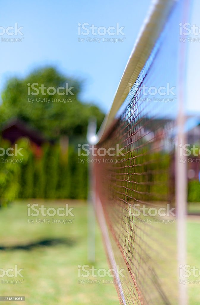 Badminton net II royalty-free stock photo