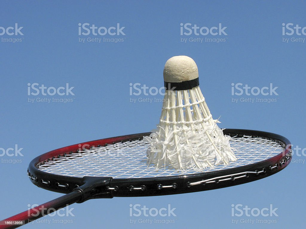 badminton royalty-free stock photo