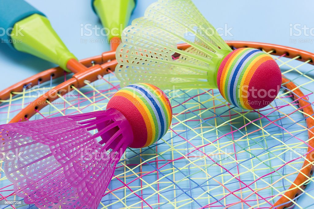 Badminton royalty-free stock photo