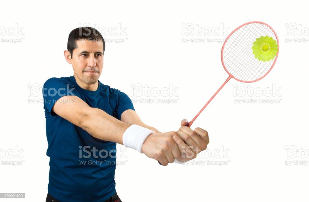 Joueur de badminton - Photo