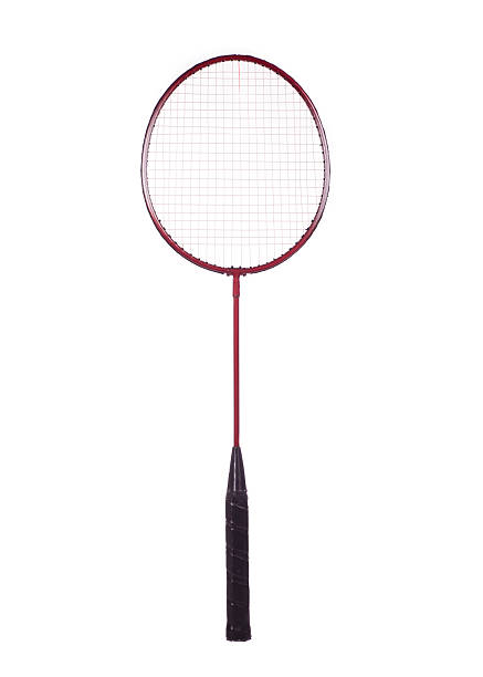badminton racket badminton racket isolated on white badminton stock pictures, royalty-free photos & images