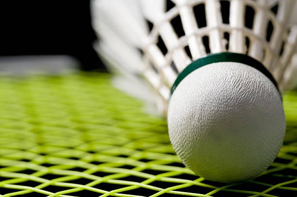 Peteca de Badminton de Badminton - foto de acervo