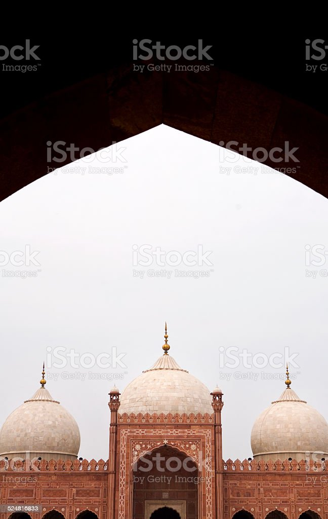 Badshahi Mosque, Lahore stock photo