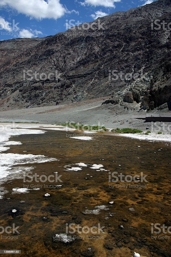 Badwater Basin royalty-free stock photo