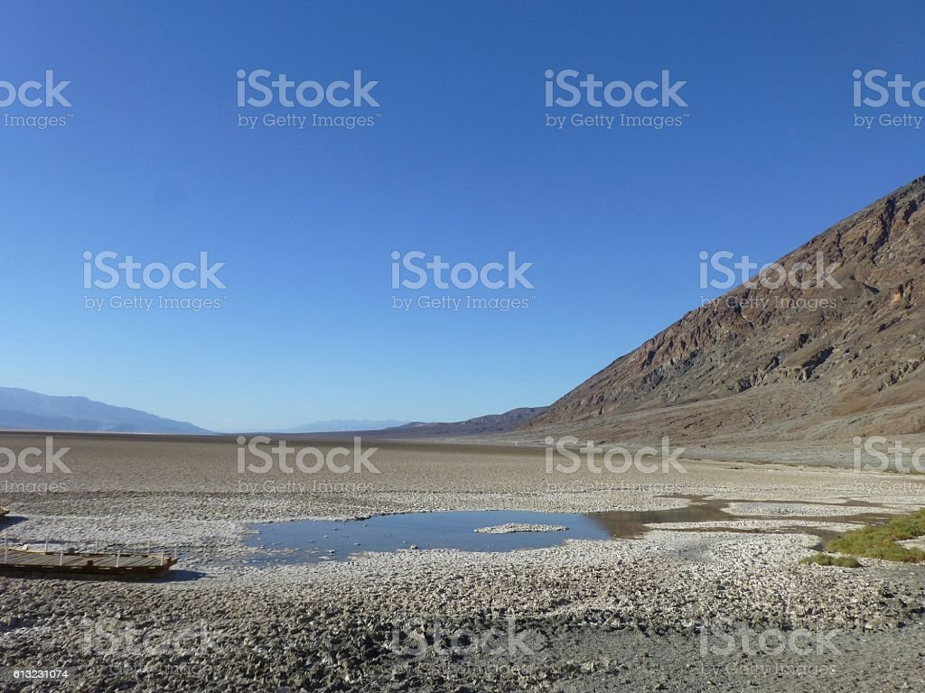 Badwater stock photo