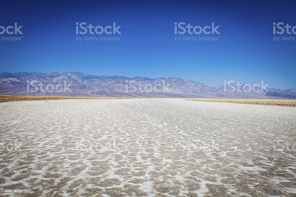 Badwater point stock photo