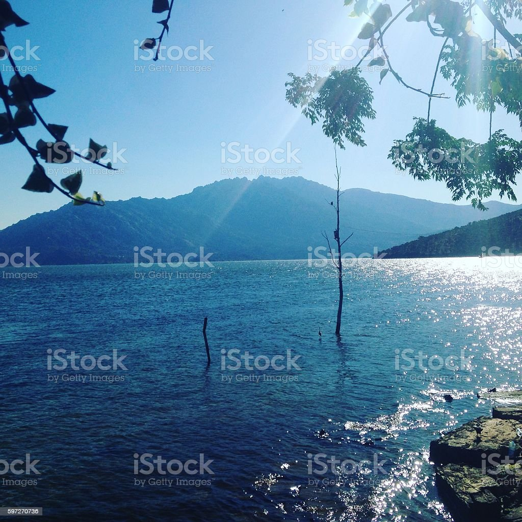 Bafa Lake royalty-free stock photo