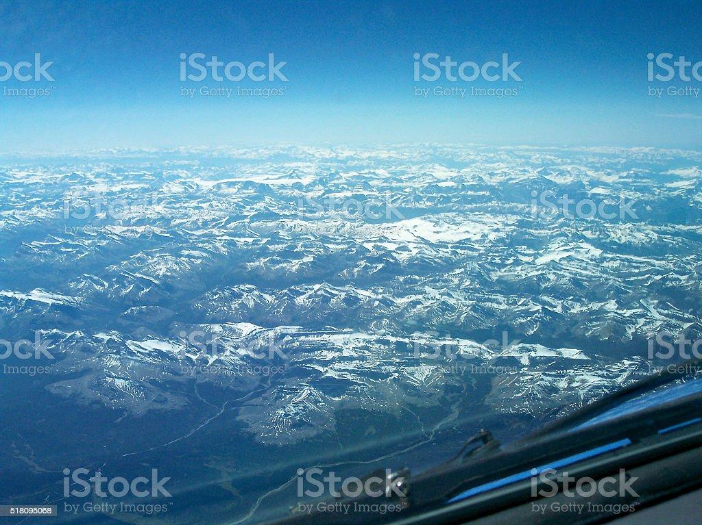 Baffin Island Hills stock photo