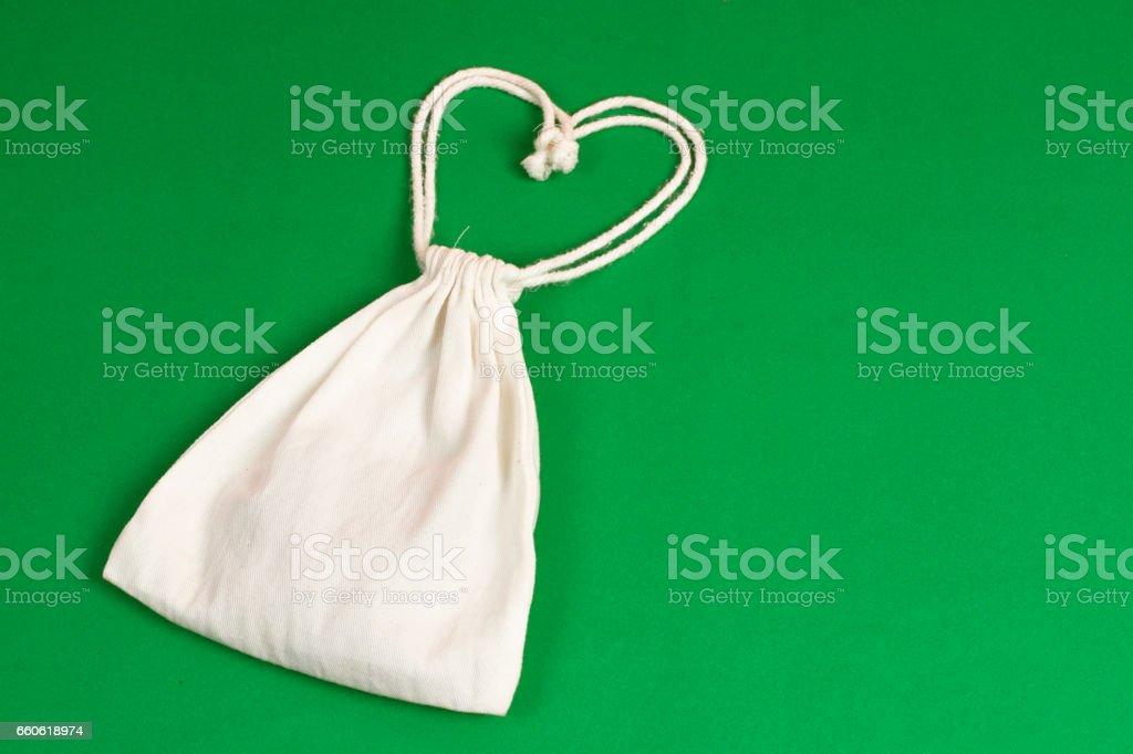 bag fabric stock photo
