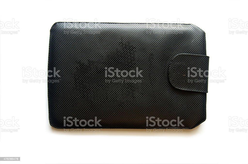 Bag for ipad mini stock photo