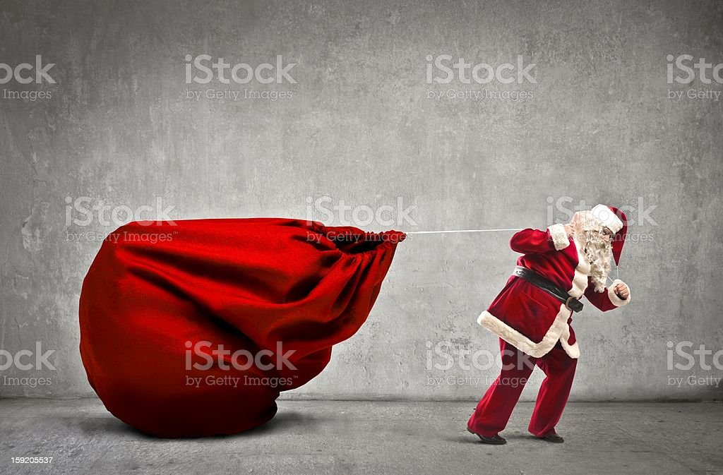bag gifts stock photo