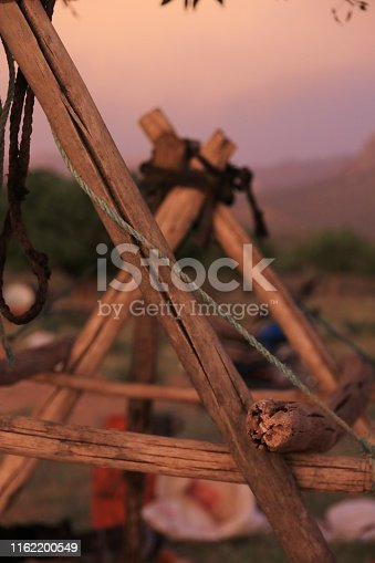 container, goat skin, hanging, construction, nomadic people, camp, Simplicity, nature