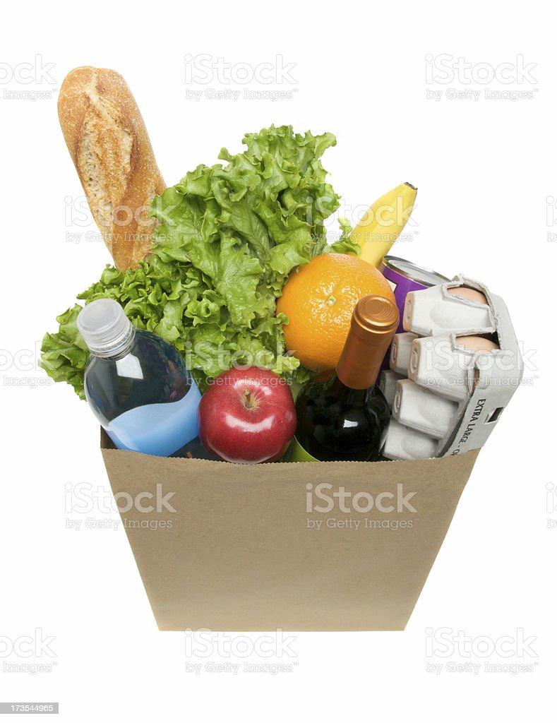Bag of Groceries stok fotoğrafı