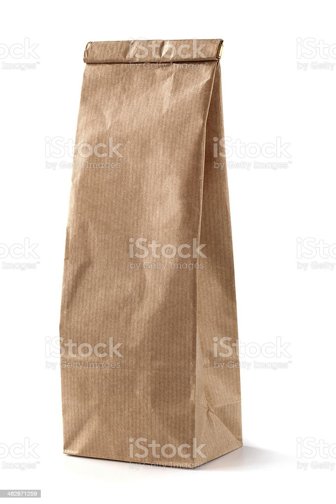 Bag off coffee stock photo