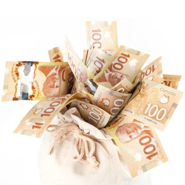 Tasche voller Geld - Kanada – Foto