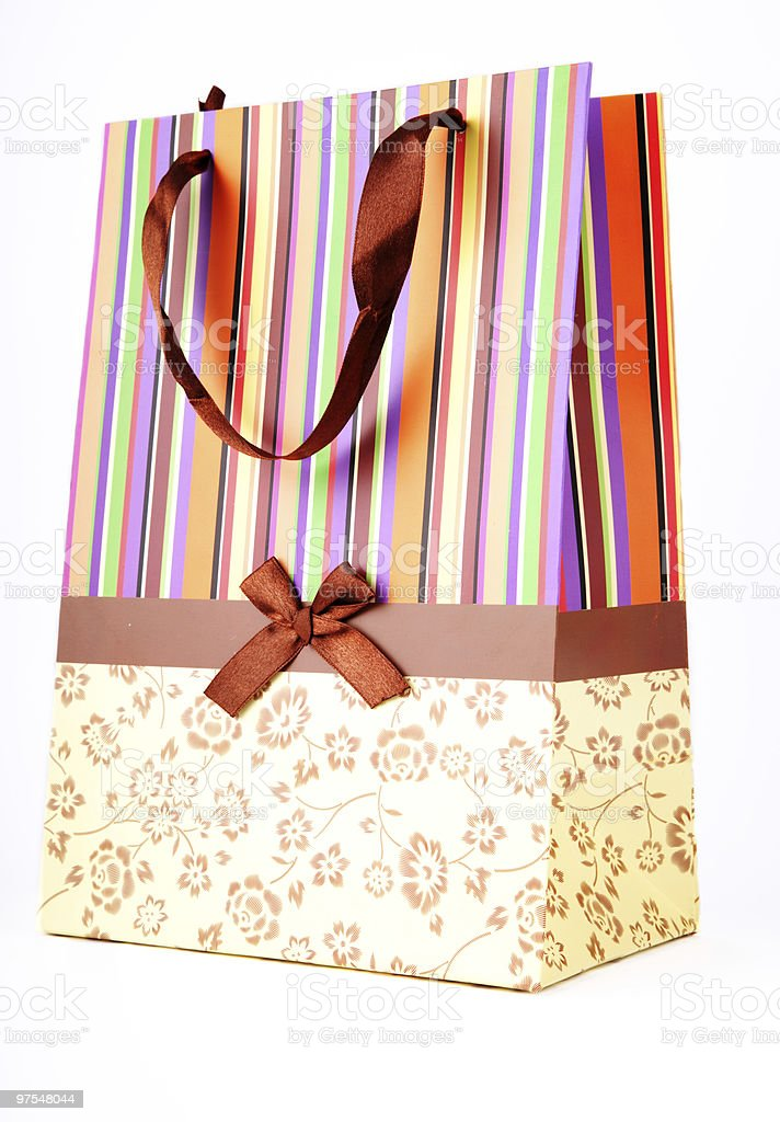 Bag, package for purchases royalty-free stock photo