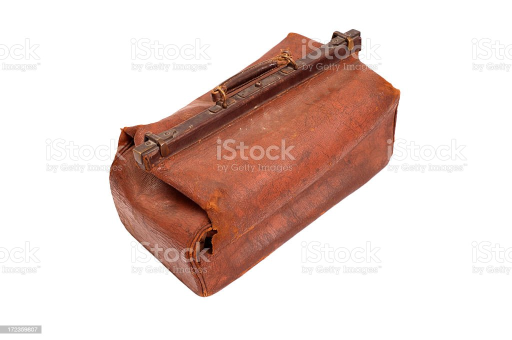 Bag (isolated) royalty-free stock photo