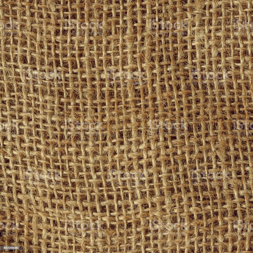 Bag sack cloth  textile close up detail surface stock photo