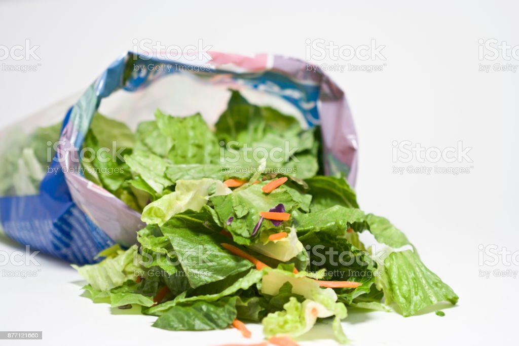 Bag Salad - Foto stock royalty-free di Alimentazione sana