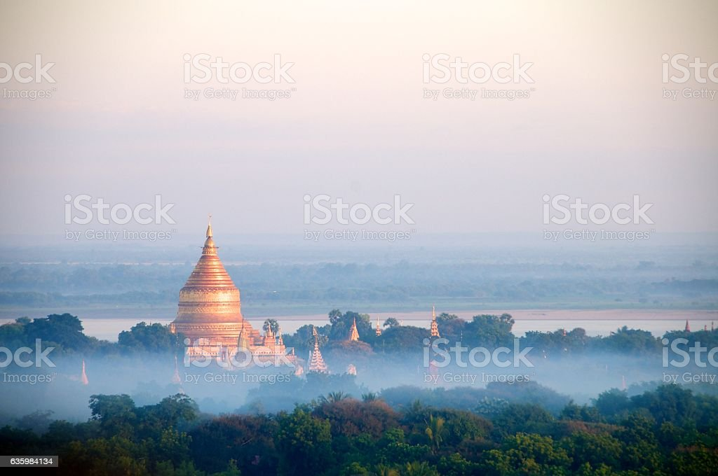 bagan balloons 11 stock photo