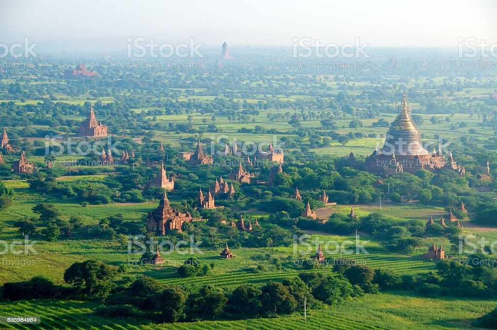 bagan balloons 45 stock photo