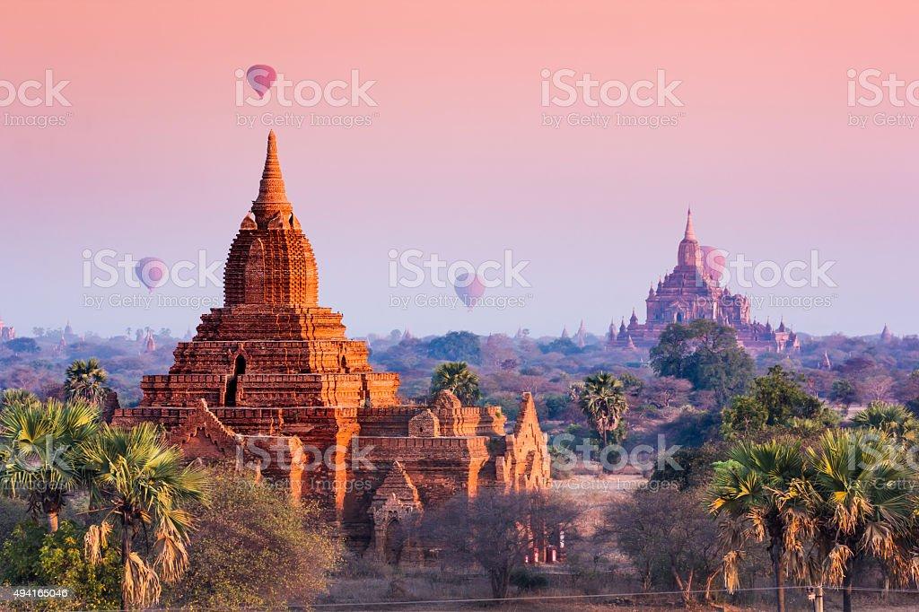 Pagan, Myanmar Lizenzfreies stock-foto