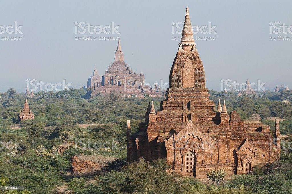 Bagan Pagodas royalty-free stock photo