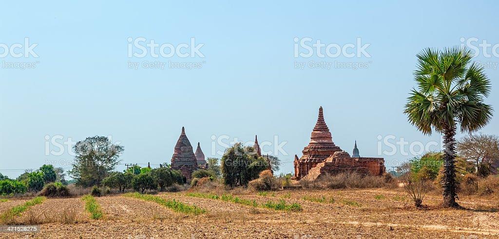 Bagan panorama royalty-free stock photo