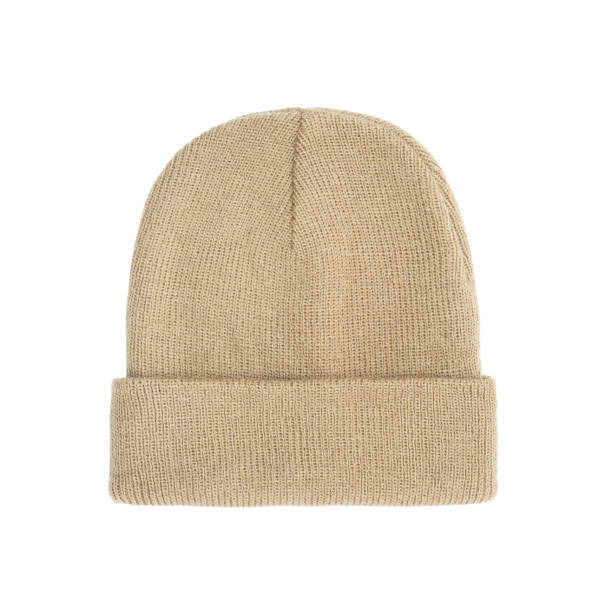 Bage beanie winter hat isolated on white background with clipping path Bage beanie winter hat isolated on white background with clipping path. knit hat stock pictures, royalty-free photos & images
