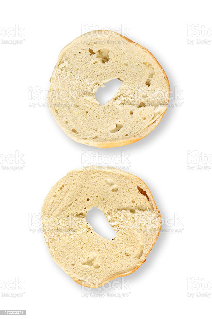 Bagel royalty-free stock photo