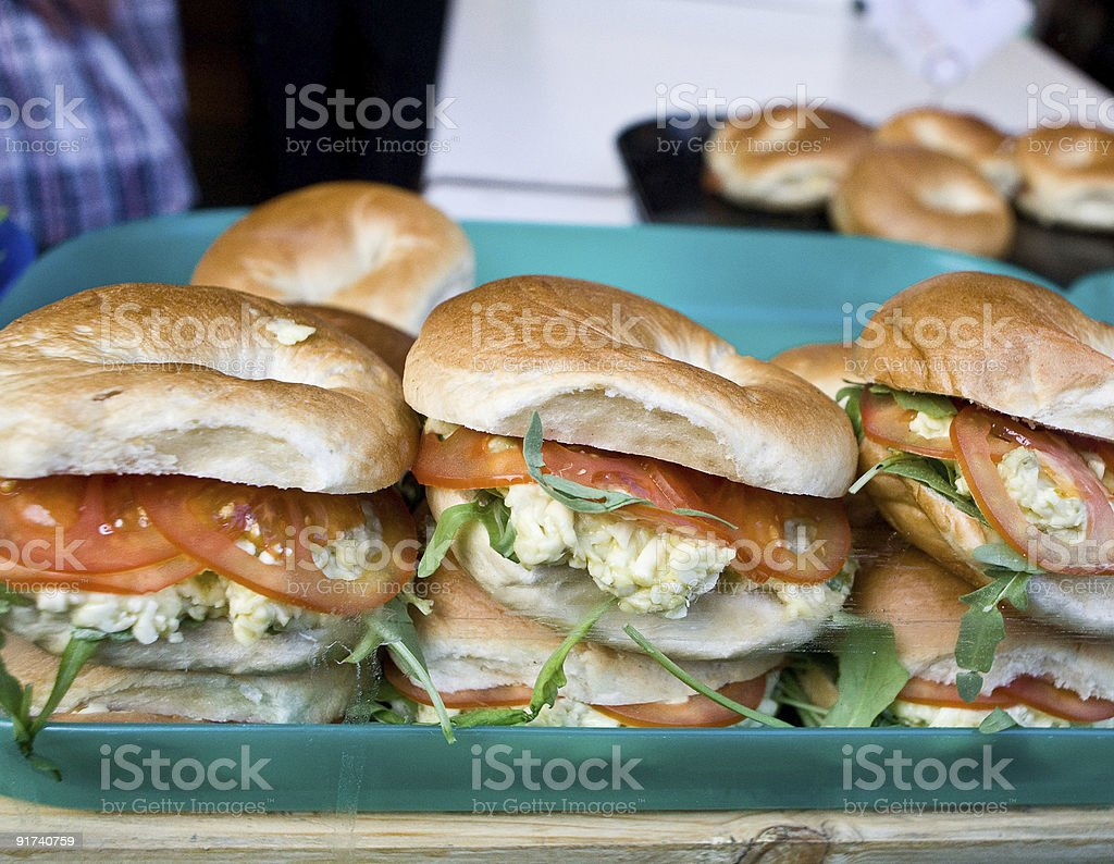 Bagels royalty-free stock photo