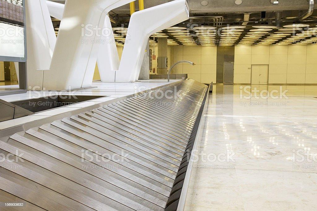 Baggage claim area royalty-free stock photo