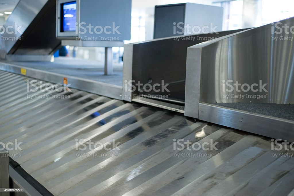 Baggage claim office of Airport royalty-free stock photo
