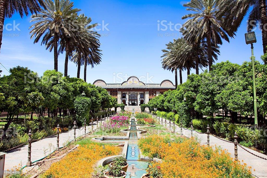 Bagh-e Narenjestan  Garden,  Iran stock photo
